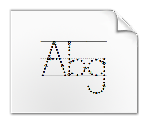 Abc junior typing font download