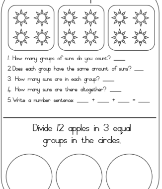 Groups of 3, 4 and 5