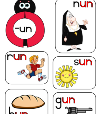 Common consonants, word families and vowels