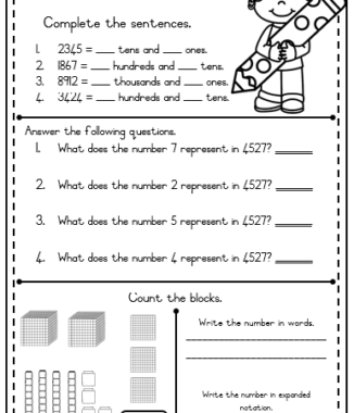 Grade 5 TERM 1 worksheets + MEMO