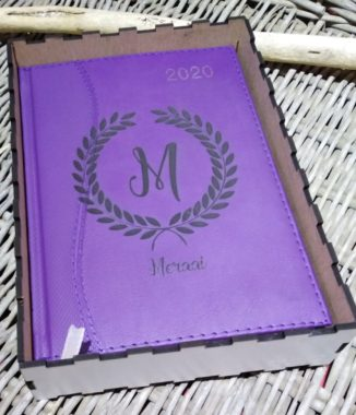 A5 diary with box