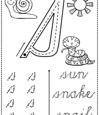 Cursive writing p-z (Lowercase)